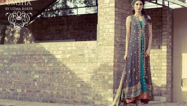 Umsha By Uzma Babar Bridal Wear Dresses 2014 For Women 009