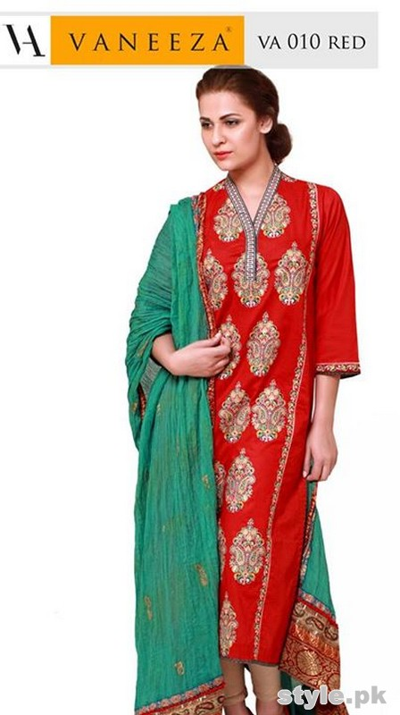 Vaneeza Pret Wear Dresses 2014 For Women 11