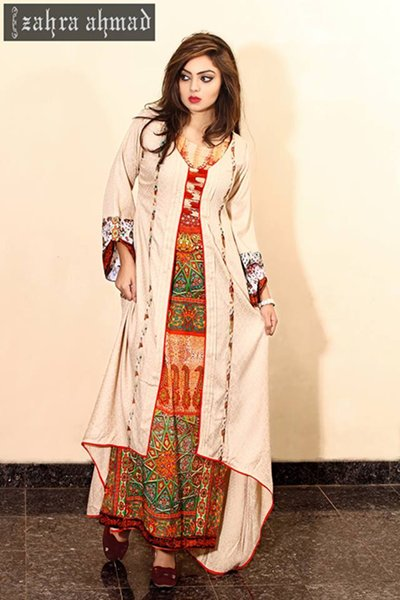 Zahra Ahmad Winter Dresses 2014 For Women 0011