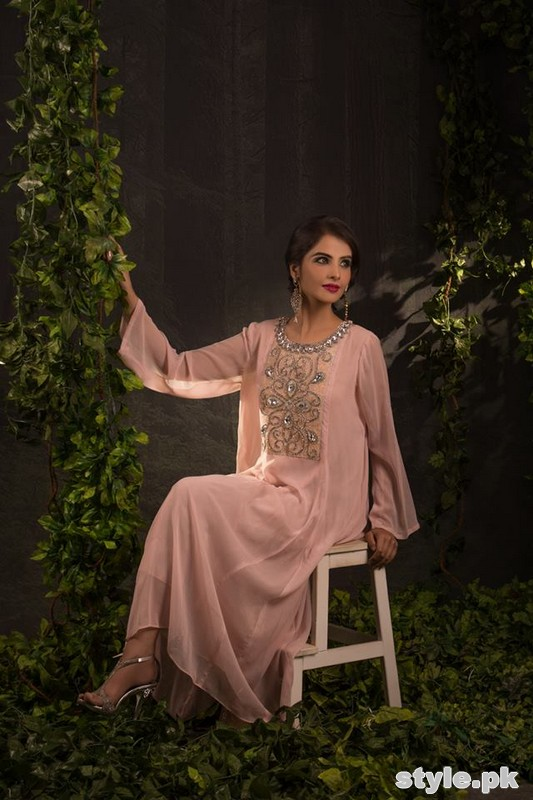 Zari Faisal Party Wear Dresses 2014 For Girls 3
