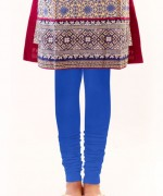 dark blue Zeen Trousers and Tights For Girls