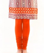 orange Zeen Trousers and Tights For Girls