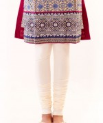 white Zeen Trousers and Tights For Girls