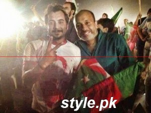 Celebrities at Azadi March 2014 (8)