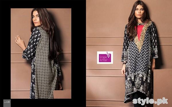 Grape Affair Kurti Collection 2015 by Shariq Textiles 5