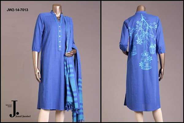 Junaid Jamshed Pret Wear Dresses 2014 For Women 004