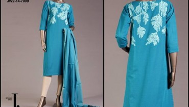 Junaid Jamshed Pret Wear Dresses 2014 For Women 006