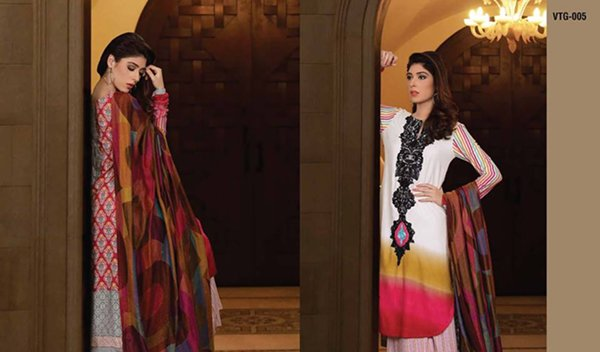 Lala Textiles Woolen Shawl Collection 2014 For Women 004
