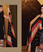 Lala Textiles Woolen Shawl Collection 2014 For Women 006