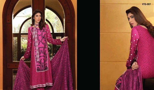 Lala Textiles Woolen Shawl Collection 2014 For Women