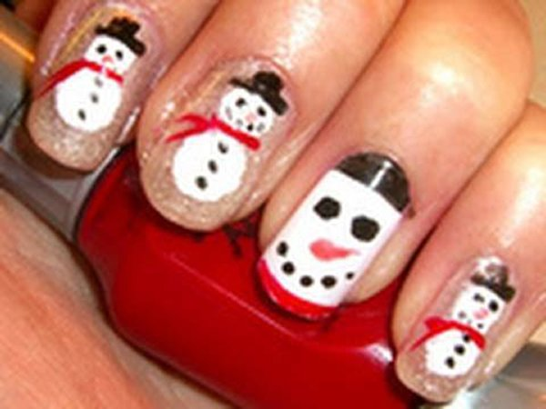 Latest Christmas Nail Designs 2014 For Women 0016