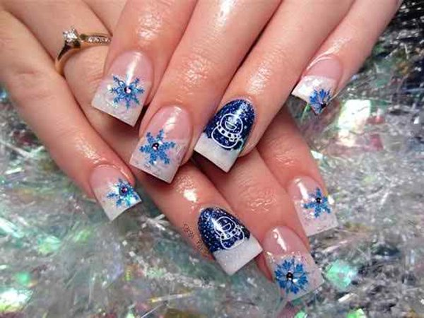 Latest Christmas Nail Designs 2014 For Women 0020