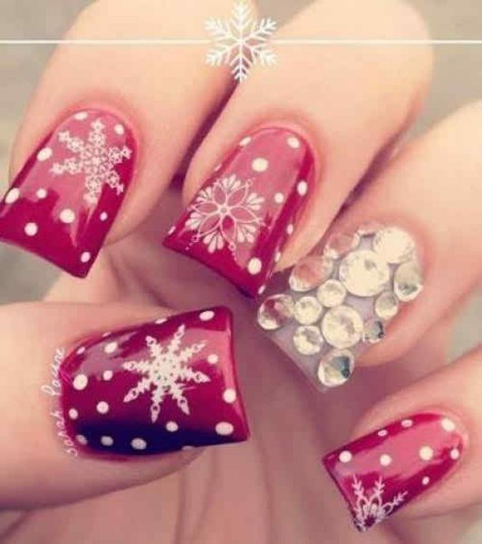 Latest Nail Art Designs 2014 For New Year 007