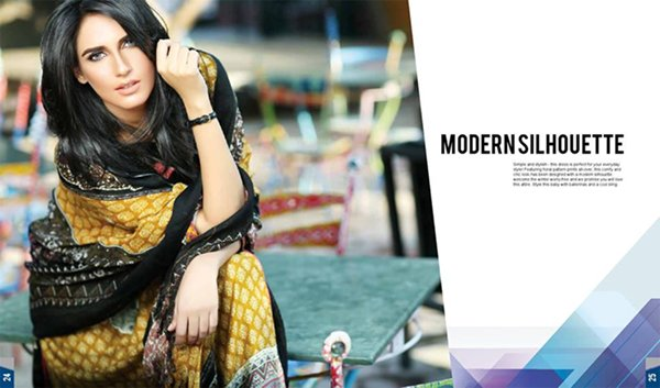 Maheen hussain Winter Dresses 2014 by Shariq Textiles 0014
