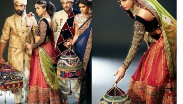 Mohsin Naveed Ranjha Bridal and Groom Dresses 2014 9