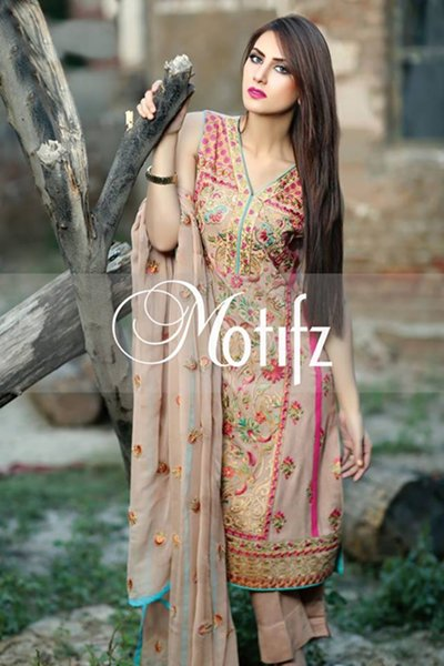 Motifz Winter Dresses 2014 Volume 2 For Women 006