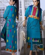 Needlez By Shalimar Winter Dresses 2014 For Women 001