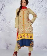 Needlez By Shalimar Winter Dresses 2014 For Women 0010