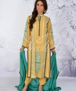 Needlez By Shalimar Winter Dresses 2014 For Women 002