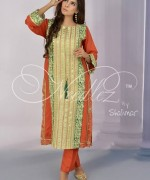 Needlez By Shalimar Winter Dresses 2014 For Women 009
