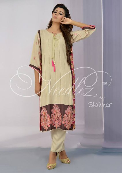 Needlez By Shalimar Winter Dresses 2014 For Women