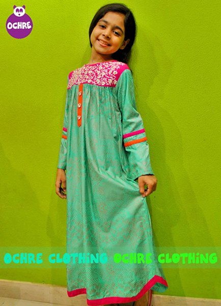 Ochre Clothing Winter Dresses 2014 For Kids 0010