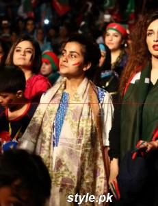 PTI Darna In Karachi, Celebrities is here 11