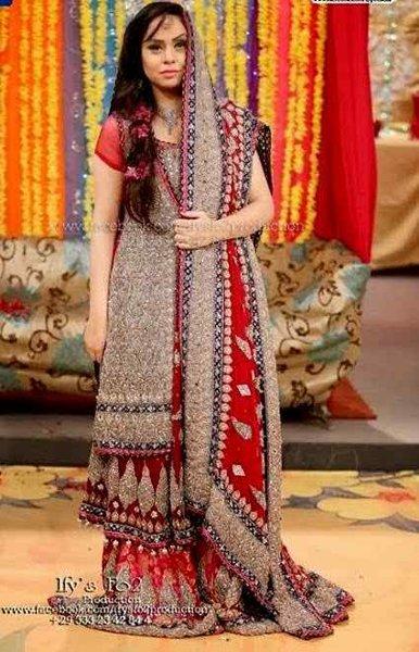 6cb1210ce40f Pakistani Bridal Dresses 2015 For Women