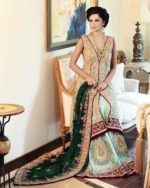 Pakistani Bridal Dresses 2015 For Women