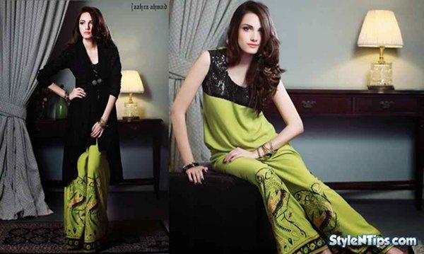 a0d7077cae97 Pakistani Dresses For Girls 2015
