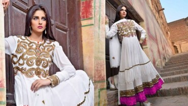 Salam Textile Wijdaan Winter Dresses 2014 For Women 0010