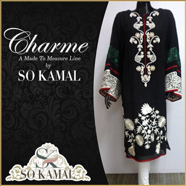 So Kamal Casual Wear Dresses 2014 For Women 0013