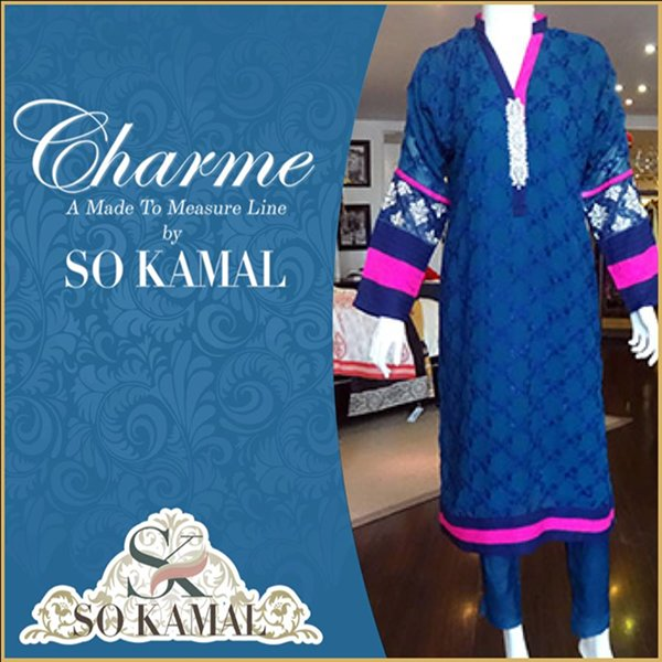 So Kamal Casual Wear Dresses 2014 For Women 0014