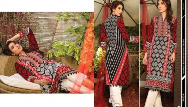 Strawberry Embroidered Kurti Collection 2014 For Girls 12
