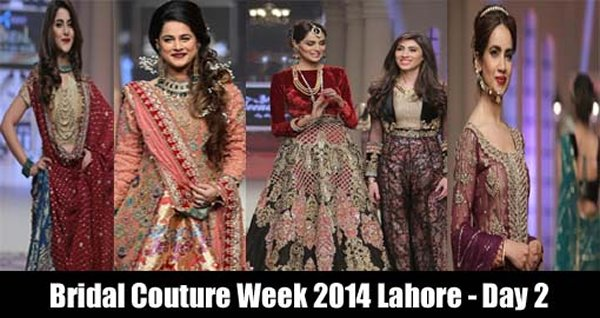 Telenor Bridal Couture Week 2014 Day 2 Pictures