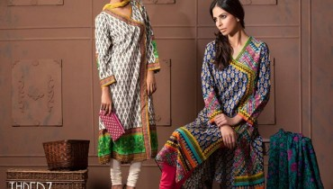 Thredz Cambric Dresses 2014-15 Volume 2 11