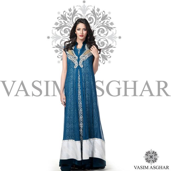 Vasim Asghar Winter Dresses 2014 For Women 006