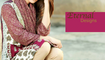 ZS Textiles Winter Dresses 2014 For Women 0012