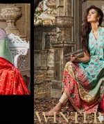 Zainab Chottani Winter Dresses 2014 by Shariq Textiles 11
