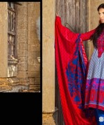 Zainab Chottani Winter Dresses 2014 by Shariq Textiles 2