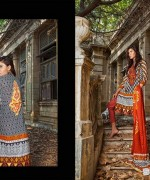 Zainab Chottani Winter Dresses 2014 by Shariq Textiles 5
