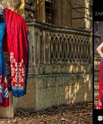 Zainab Chottani Winter Dresses 2014 by Shariq Textiles 6