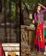 Zainab Chottani Winter Dresses 2014 by Shariq Textiles 8