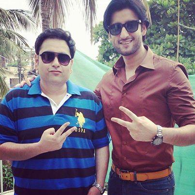 agha ali with brother