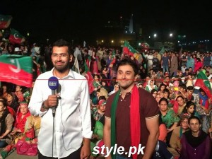 azadi march dharna (2)
