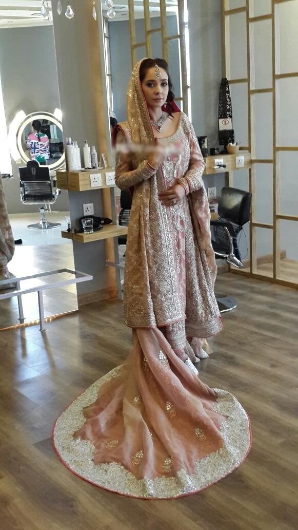 Juggan kazim wedding dress