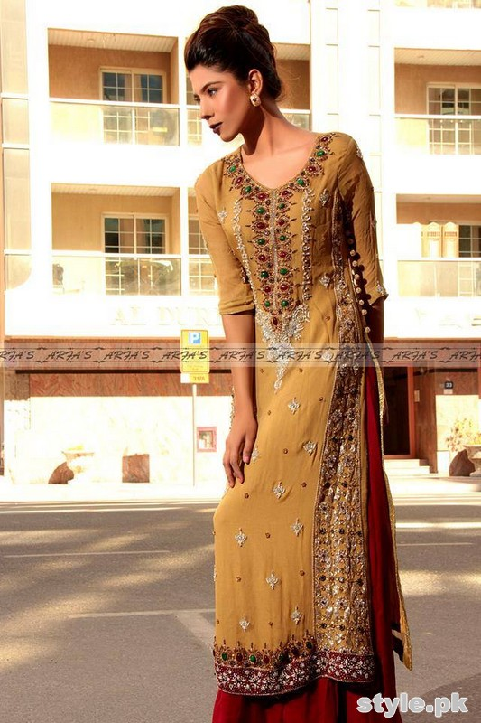 Arfa Bridal Wear Dresses 2015 For Women 1