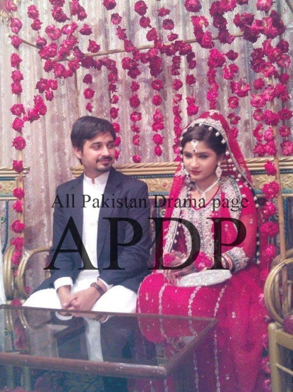 Wedding Pictures of Babar Khan Second Marriage With Bismah Khan