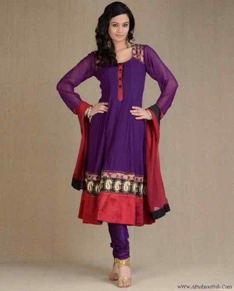 Latest designer anarkali suits for girls 2018 with price