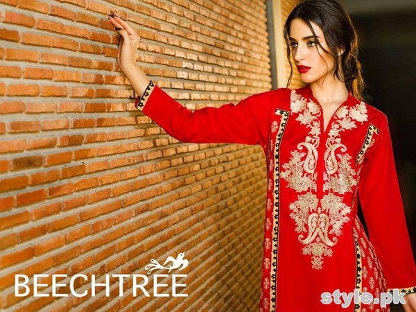 Beech Tree Winter Dresses 2015 For Women 4